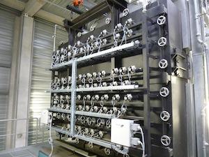 Les ramoneurs pneumatiques de la chaudière à bois, photo Polytechnik