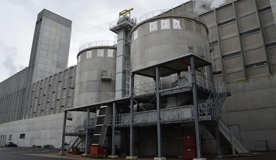Les silos, photo Frédéric Douard