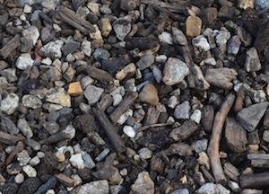 Produits triés par le StoneFex Komptech chez CVE, photo Frédéric Douard