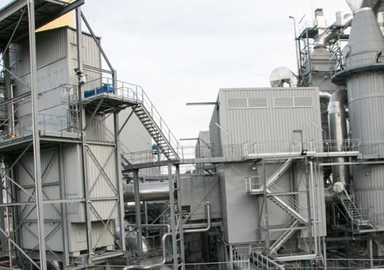 L'unité de valorisation énergétique du Sigidurs, exploitée par une filiale de Veolia Propreté, cogénère de l'énergie électrique et de l'énergie thermique