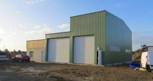 Bureaux et locaux de réception des matières chez AGRI Biométhane