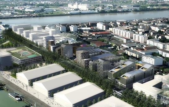 Bordeaux, le quartier des Bassins à flot sera alimenté par 70 % d'énergie renouvelable