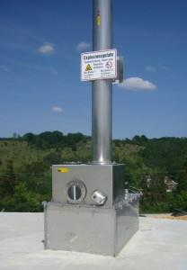 Régulateur de pression ÜU-GD, photo Biogaskontor