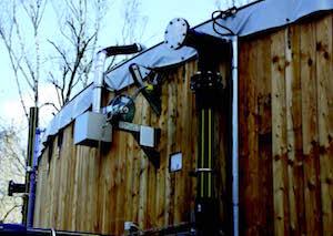 Détail des équipements du digesteur de Beauval, photo Ledjo Energie