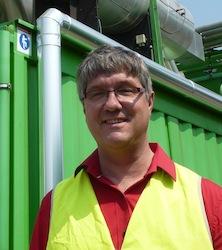Jean-Marie Debert, directeur des Pôles Déchets & matériaux, photo F. Douard