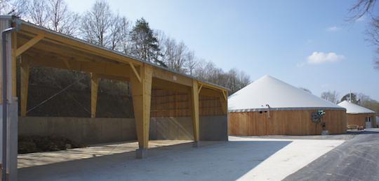 L'installation de méthanisation du zoo de Beauval, photo Ledjo Energie