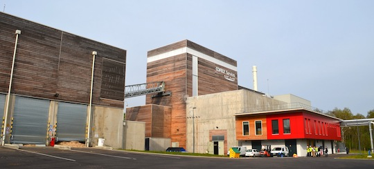 La centrale de cogénération biomasse de Forbach, photo Frédéric Douard