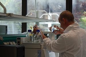 Laboratoire BTS Biogas