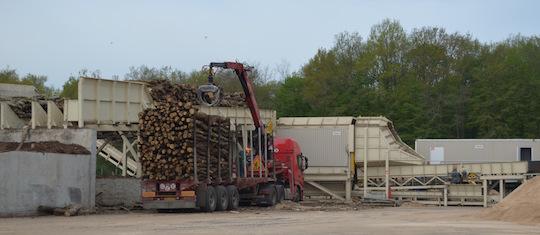 Les transports courts influent peu sur le contenu en CO2 du granulé, photo Frédéric Douard à Cosne-sur-Loire