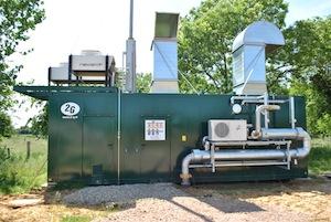 Le cogénérateur 2G de 220 kWé, photo M. Atinault, Alec 27