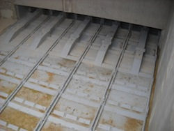 Les extracteurs du silo à bois, photo Compte R.