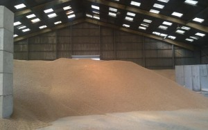 Stockage de granulés Europort