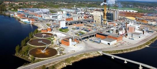 L'usine d'Iggesund