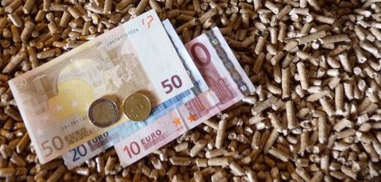 Le prix des granulés suit l'inflation des cours de l'énergie mais à distance des autres, photo Frédéric Douard
