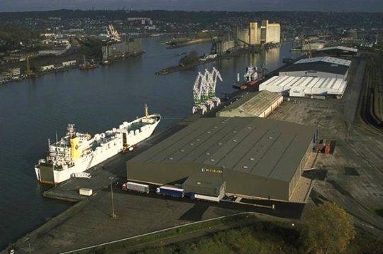 Locaux Euroports à Rouen
