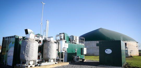 Modules de purification et d'injection de biométhane chez Bioénergie de la Brie, photo Mauritz Quaak