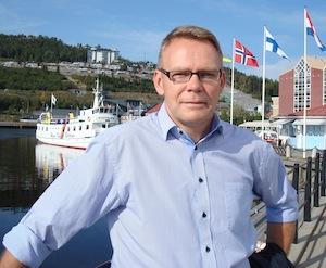 Olov  Winblad von Walter, directeur de l'usine Iggesund en Suède
