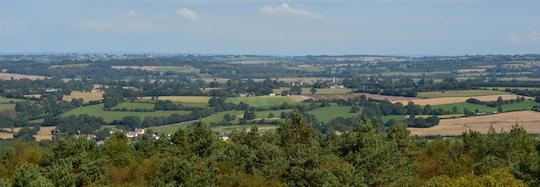 Forêt et bocage en Normandie, photo Frédéric Douard