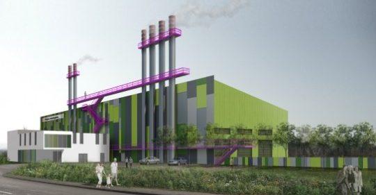 Chaufferie biomasse de Dijon