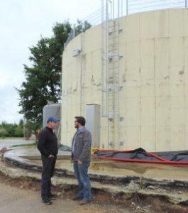 Benoît Drouilhet et Olivier Rebaud de Bio4gas, photo MAAF