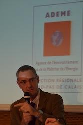 Hervé Pignon, directeur régional de l'Ademe, photo F. Douard