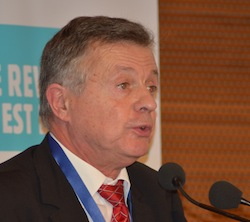 Jean-Bernard Bayard, Président de la chambre d'agriculture, photo Frédéric Douard