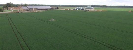 La ferme d'Arcy et son unité de méthanisation à Chaumes-en-Brie