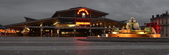 La Grande Halle de la Villette accueillait le salon Energies Expo 2014, photo Frédéric Douard