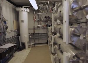 La technologie de filtration membranaire retenue à la ferme d'Arcy est développée par Air Liquide, image ADEME