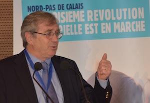 Philippe Vasseur décline les ambitions régionales, photo Frédéric Douard