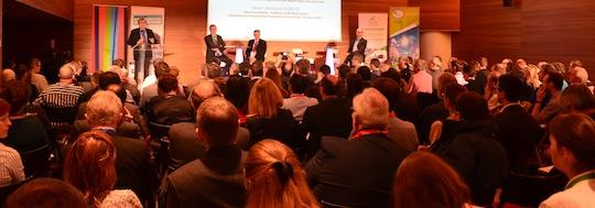 Salle comble à Lille pour la journée du 3 octobre 2014 sur l'injection de biométhane, photo F. Douard