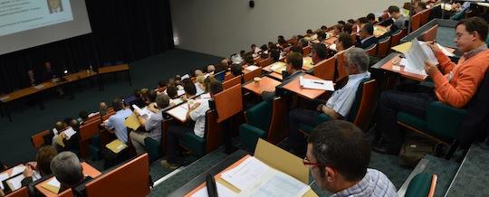 Une assemblée studieuse pour le colloque 2014 du CIBE, photo Frédéric Douard
