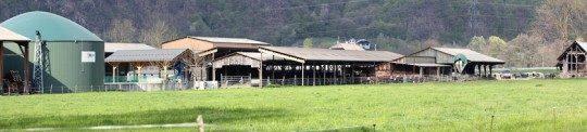 Unité de méthanisation de l'Earl Mercier à Esserts Blay en Savoie