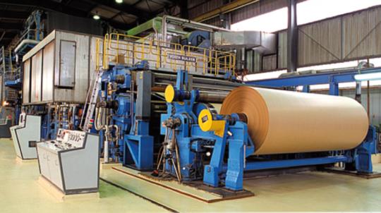 La production de papier, photo Gascogne Paper