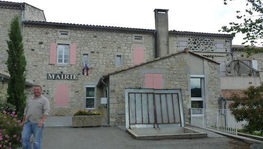 Chaufferie communale de la commune de Lussas en Ardèche, photo Frédéric Douard