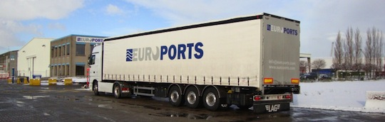 Euroports dispose de sa propre flotte de véhicules