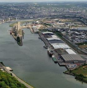 Terminal Euroports de Rouen,, photo Euroports