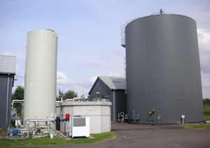Foulum Biogas au Danemark, photo Xergi