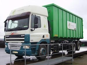 Camion à conteneur, photo Biocombustible SAS