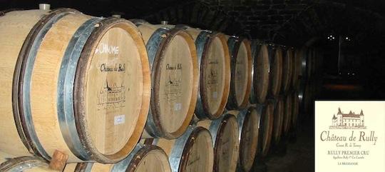 L'exploitation viticole du château de Rully