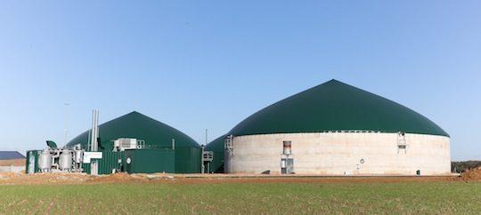 L'unité de méthanisation agricole de Chaumes-en-Brie en Seine-et-Marne, photo Mauritz Quaak