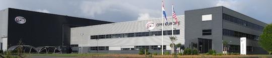 Locaux de CPM Europe à Zaandam aux Pays-Bas