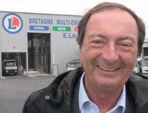 Michel-Edouard Leclerc lors de l'inauguration du site de Montauban, photo BME