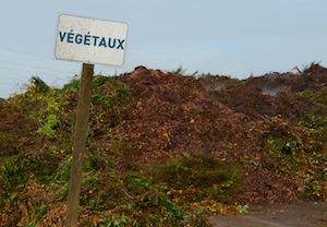 La valorisation de la partie ligneuse des déchets verts assure 50% des ressources en bois-énergie de Bi-Vert, photo Frédéric Douard