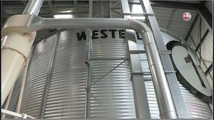 Le silo à granulés n°1 fourni par les Ets Phénix Rousies, photo BME