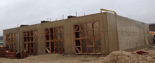 Les cellules de Métanchottes en construction, photo Méthajade