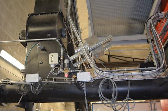 Système de dosage du combustible avec mesure d'humidité en continu, photo Frédéric Douard