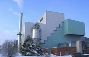 Le Centre de Valorisation Energétique des déchets ménagers résiduels de Maubeuge, photo TIRU