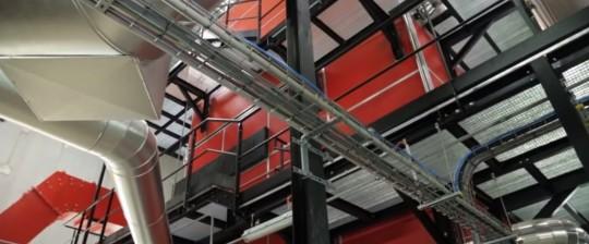 Le chaudières Weiss-France de 5 MW dans le quanrtier d'Etouvie