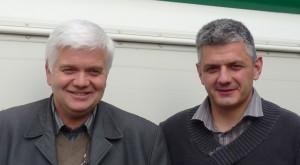 Lucien Gerbier et Cyrille Mercier, responsable commercial et logistique, photo Frédéric Douard